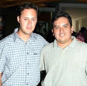 Prometeo Murillo y Alberto Ruiz.