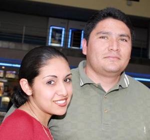 Alejandra Mendoza y Artemio Carrillo.