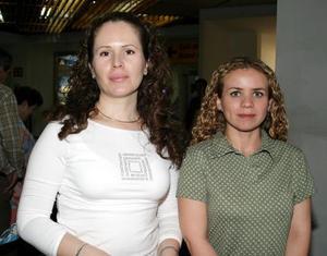 <b><u> 07 abril </b></u><p> Sandra López y Claudia Alcántar.