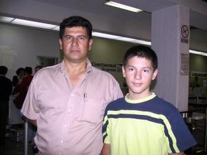 A Tampico viajó Enrique Juárez y fue despedido por Enrique Juárez