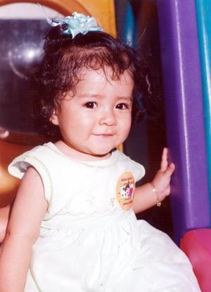 <b><u>12 de abril </b></u><p> Leticia Floricel Franco Alvarado captada a la edad de nueve meses