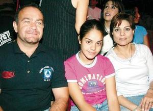 Marcela y Pilar Pedraza asistieron como muchos al show de Tihany Spectacular