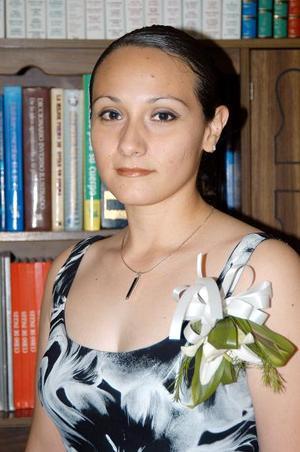 Carla Azucena Corral Ibarra, en la despedida de soltera que se le ofreció por su próxima boda con Omar Rodríguez