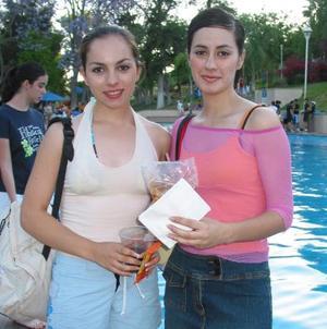 Mónica Esperón Saldaña y Érika Franco Saldaña, se hicieron presentes en el Club Campestre de Gómez Palacio.