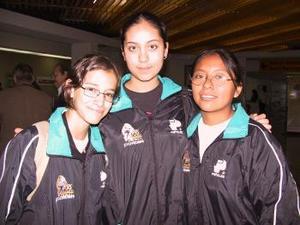 <b> <u> 15 de abril </b></u>  <p>  Karla Delgado, Miriam González y Cristina Murillo viajaron a la Olimpiada de Boliche de Culiacán.