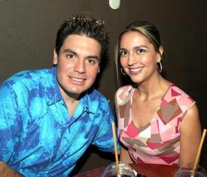 Daniel García y Lizeth Leal.