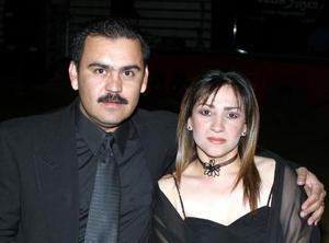 Rocío de Ayup y Omar Ayup.