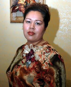 Alejandra Ruiz Ríos, captada en una de sus despedidas de soltera.