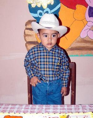 Bryan Alejandro Mejía Orona cumplió dos años de vida en fechas pasadas.