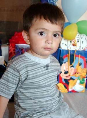 Diego Alberto Soto González cumplió dos años de vida, hijo de los señores Jesús Soto de la Cruz y Claudia Elena González de Soto.