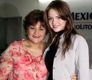 <b> <u> 16 de abril </b></u>  <p> Marisol González y Bertha Casas de González regresaron a la Ciudad de México.