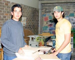 Miguel Ángel Martínez y Paco Campa.