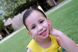 Luisa Aguilera López disfrutó de un divertido festejo con motivo de su cuarto cumpleaños.