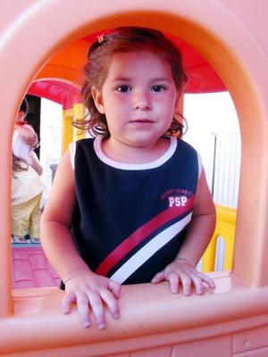 Luisa Fernanda Contreras G., captada en una fiesta infantil en días pasados.