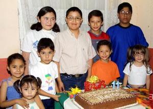 Mario Alejandro Garay Contreras festejó su onceavo cumpleaños, con una divertida reunión acompañado de sus amiguitos.