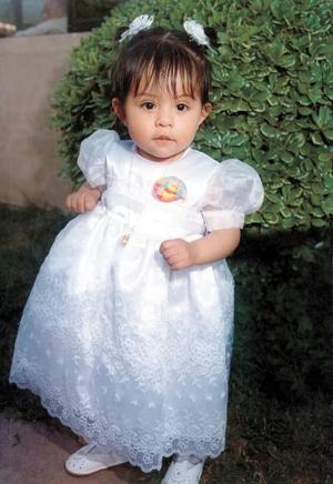 Anel Espinoza Bibriesca cumplió su primer año de edad, hija de Jesús Espinoza Alvarado y Rubicelia Bibriesca