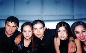 Humberto Madero, Andis Rincón, Luis Mario Rebollozo, Ana Sofía Medinilla y Alejandra García..