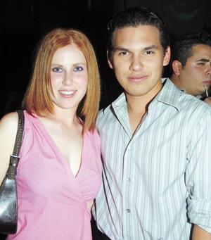 Marlene Gidi y René Chávez.
