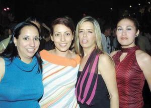 María Estela, Michelle, Cecilia y Lupita