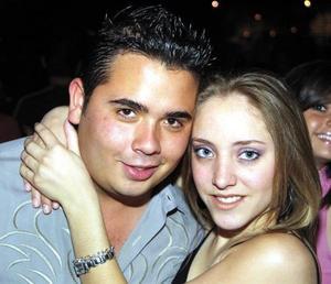 Rodrigo Escobosa y Ana Karla Veyán.
