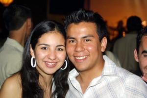Tania Trasfí y Antonio Medina