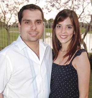 Homero del Bosque Cravioto y Fernanda Ortiz Woolfolk.