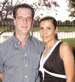 José Pablo Inzunza F. y Ana Cristina García M.
