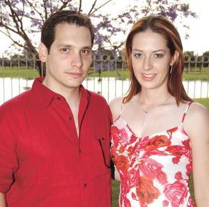 <b><u> 20 de abril </b></u><p> Severino González Martínez  y Claudia Mendiola Rodríguez.