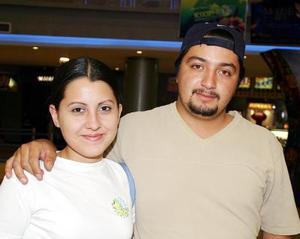 Irene Ramírez y Ángel Reyes.