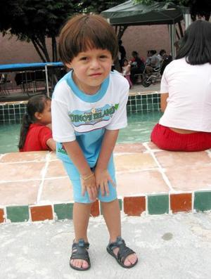 Emiliano Arath Muñoz López festejó su cumpleaños con un divertido convivio.