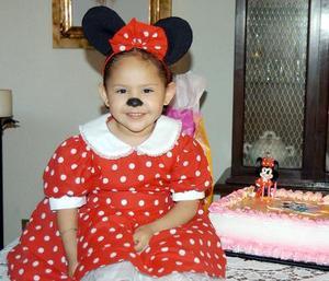 Michelle Martínez Pineda festejó su tercer cumpleaños, con un divertido convivio.