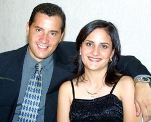 Alfredo Sáenz y Elena Tinoco de Sáenz