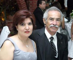 JClaudia y Hugo Oviedo.