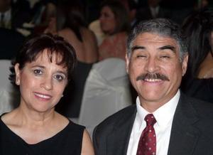 Rocío Oranday de  Quiroga y Gustavo Quiroga.