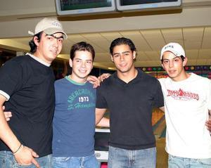 Alfonso Campa, José Juan Marcos, Hugo Anaya y Alejandro Madero.