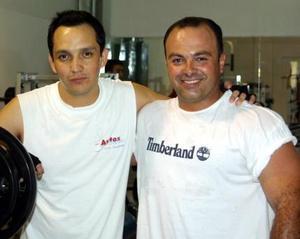 Jan Guevara  y Carlos de la Maza Carreón.