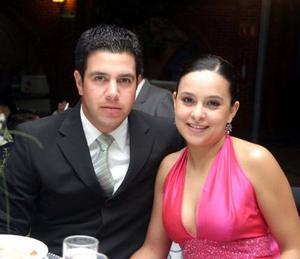 Mario  Navarro y Ana Paula Peña.
