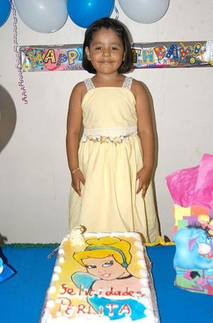 Perla del Rocío Chávez Arredondo, captada en su fiesta de cumpleaños.