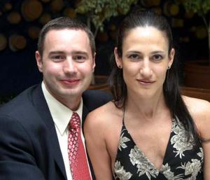 Antonio Achem y Claudia Padilla.