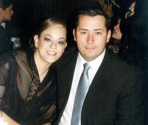 Blanca Flor Rodríguez López y Eduardo Hernández Medina.