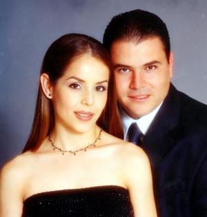 Claudia Robles Heimpel y Alfredo Garza Martínez.