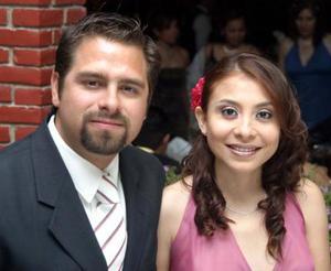 Darío Mora y Desireé Gutiérrez.