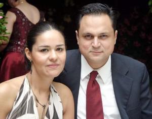 Joaquín Arias y Graciela de Arias.