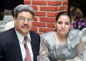 José Luis Jaramillo Estrada y Juanita Miramontes.