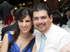 Maribel Barajas y José de Jesús Gutiérrez.