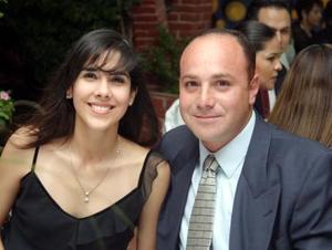 Nidia Chapa y Armando Aguilar.
