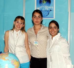 <b><u> 24 de abril </b></u><p> Zoyla Valdéz, Ana Cisneros y Alejandra Canales.
