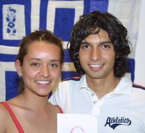 Diana Solís y Carlos Díaz.
