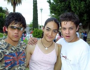 Eduardo Villarreal, Alejandra Ávila y Mauricio López.