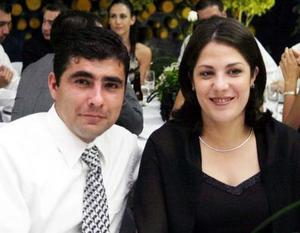 Luis Gómez Macías y Silvia Castro de Gómez.
